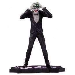 DC COLLECTIBLES JOKER CLOWN PRINCE OF CRIME BY BRIAN BOLLAND RESIN 20CM FIGURE STATUE