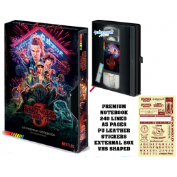 STRANGER THINGS 3 - VHS A5...