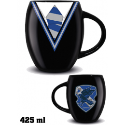 PYRAMID INTERNATIONAL HARRY POTTER - RAVENCLAW UNIFORM CORVONERO OVAL MUG TAZZA IN CERAMICA
