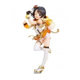 THE IDOLMASTER CINDERELLA GIRLS CHIE SASKI PARTY TIME GOLD VER. 1/7 STATUE 19CM FIGURE ALTER