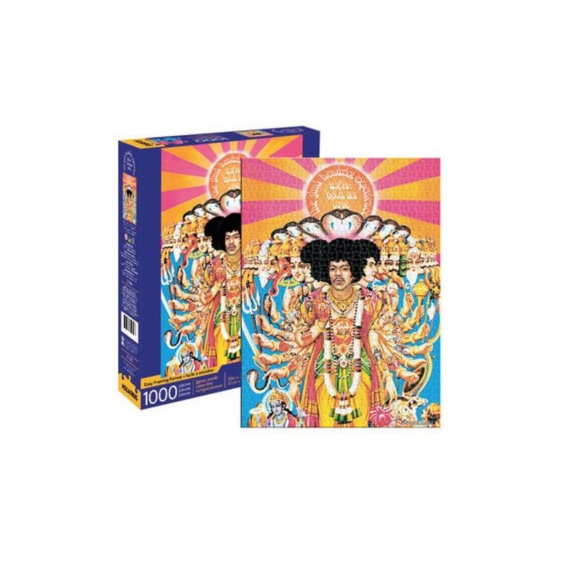 AQUARIUS ENT JIMI HENDRIX ALBUM COVER AXIS BOLD AS LOVE 1000 PIECES PEZZI JIGSAW PUZZLE