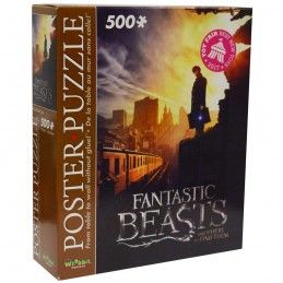 FANTASTIC BEASTS ANIMALI FANTASTICI NEW YORK 500 PIECES PEZZI JIGSAW PUZZLE 48X66CM