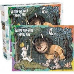 WHERE THE WILD THINGS ARE NEL PAESE DEI MOSTRI SELVAGGI PUZZLE 500 PEZZI PIECES 48X35CM AQUARIUS ENT