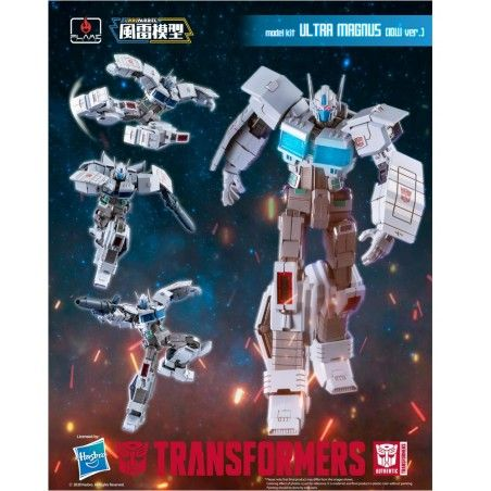 TRANSFORMERS ULTRA MAGNUS IDW VER MODEL KIT ACTION FIGURE