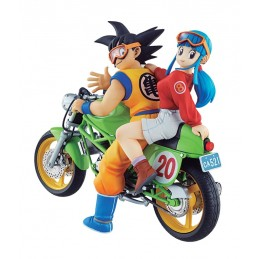 DRAGON BALL DRAGONBALL SONGOKU&CHICHI DESK REAL MCCY FIGURE