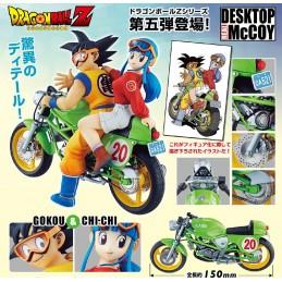 DRAGON BALL DRAGONBALL SONGOKU&CHICHI DESK REAL MCCY FIGURE