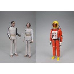 SPACE SPAZIO 1999 - DELUXE COLLECTION SET 3X ACTION FIGURE SIXTEEN 12