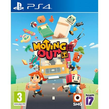 MOVING OUT PS4 PLAYSTATION 4 NUOVO ITALIANO