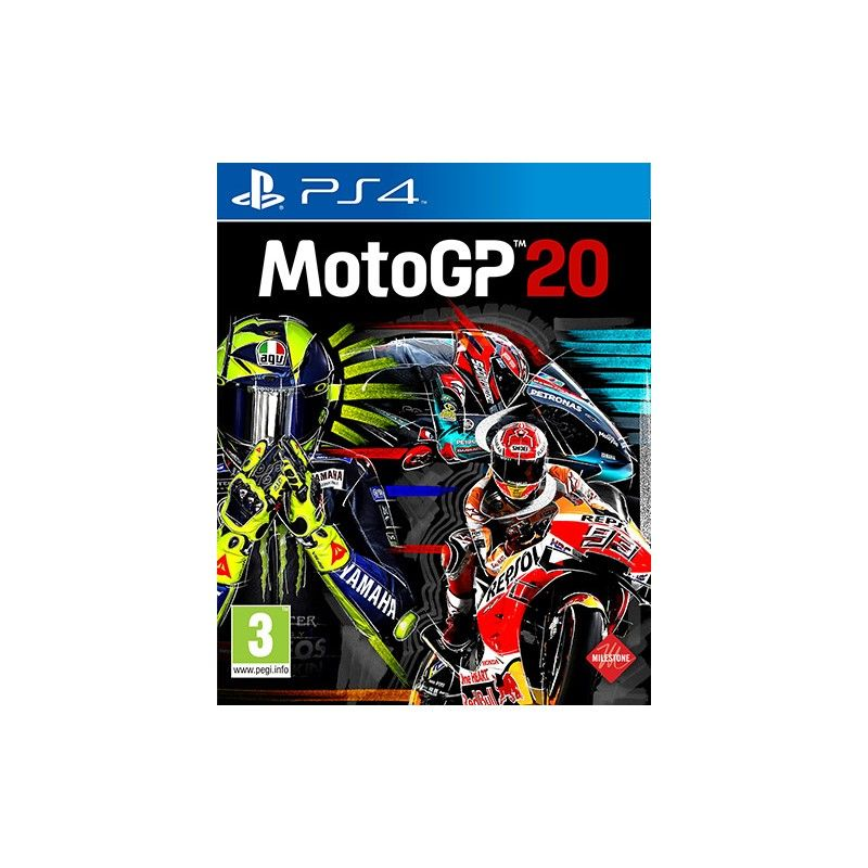 MOTOGP 20 PS4 PLAYSTATION 4 NUOVO ITALIANO