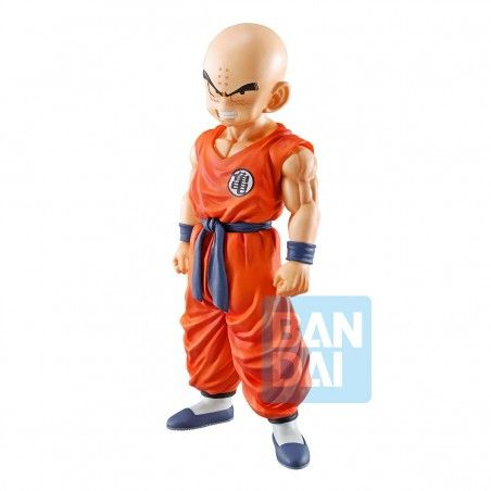 DRAGON BALL SUPER ICHIBANSHO KRILLIN (STRONG CHAINS!!) 18CM PVC STATUE FIGURE