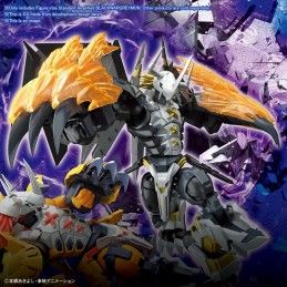 BANDAI DIGIMON FIGURE RISE BLACK WARGREYMON AMPLIFIED MODEL KIT FIGURE