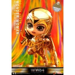 HOT TOYS WONDER WOMAN 1984 - GOLDEN ARMOR WONDER WOMAN COSBABY MINI FIGURE