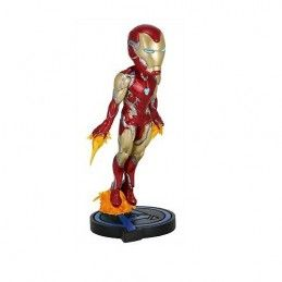 NECA MARVEL AVENGERS ENDGAME IRON MAN BOBBLE HEAD KNOCKER FIGURE