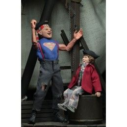 THE GOONIES - SUPER SLOTH AND CHUNK CLOTHED ACTION FIGURE NECA