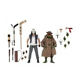 TMNT TEENAGE MUTANT NINJA TURTLES - CASEY JONES AND RAPHAEL DISGUISED 2-PACK ACTION FIGURE NECA