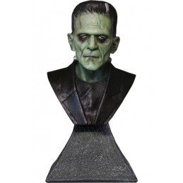 FRANKENSTEIN BUST STATUE 15CM RESIN FIGURE TRICK OR TREAT STUDIOS