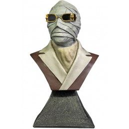 THE INVISIBLE MAN BUST STATUE 15CM RESIN FIGURE TRICK OR TREAT STUDIOS