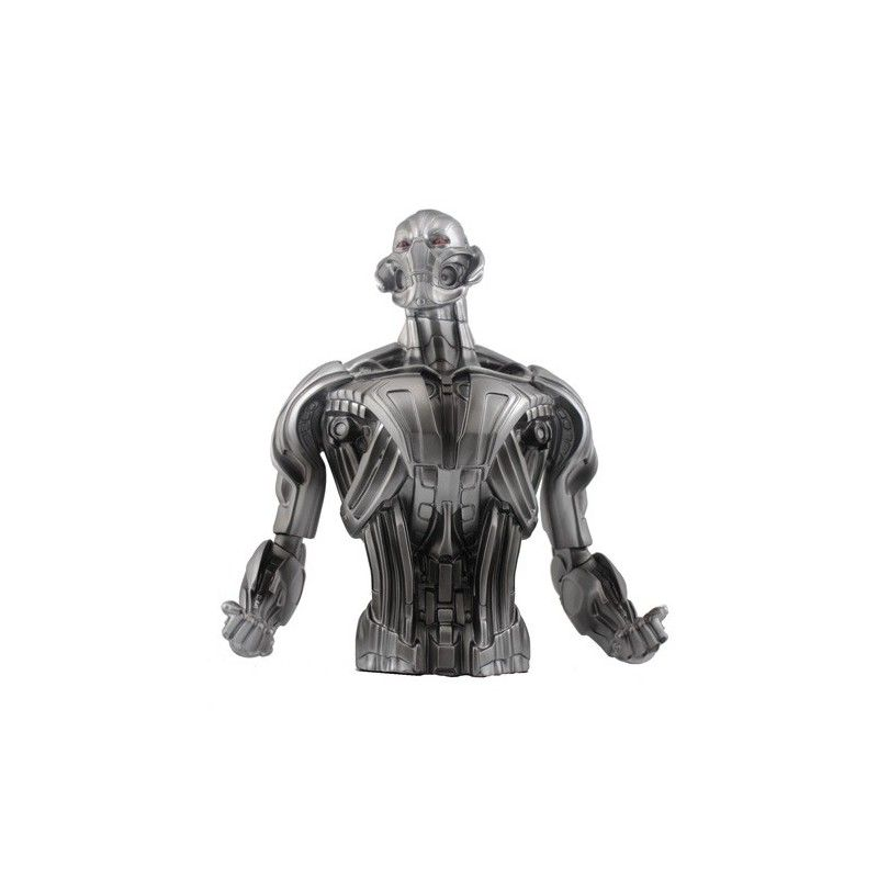 SD TOYS AVENGERS AGE OF ULTRON COIN BANK ULTRON BUST BANK SALVADANAIO