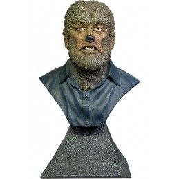 THE WOLFMAN MAN BUST STATUE 15CM RESIN FIGURE TRICK OR TREAT STUDIOS