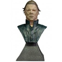 HALLOWEEN II - MICHAEL MYERS BUST STATUE 15CM RESIN FIGURE TRICK OR TREAT STUDIOS