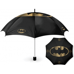 PYRAMID INTERNATIONAL BATMAN GOLD LOGO OMBRELLO UMBRELLA