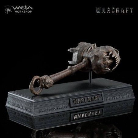 WARCRAFT - SKULLBREAKER OF BLACKHAND 1/6 REPLICA RESIN FIGURE 20CM