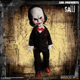LIVING DEAD DOLLS LDD SAW BILLY 25CM ACTION FIGURE MEZCO TOYS
