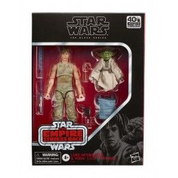 STAR WARS THE BLACK SERIES - LUKE SKYWALKER AND YODA JEDI TRAINING ACTION FIGURE HASBRO