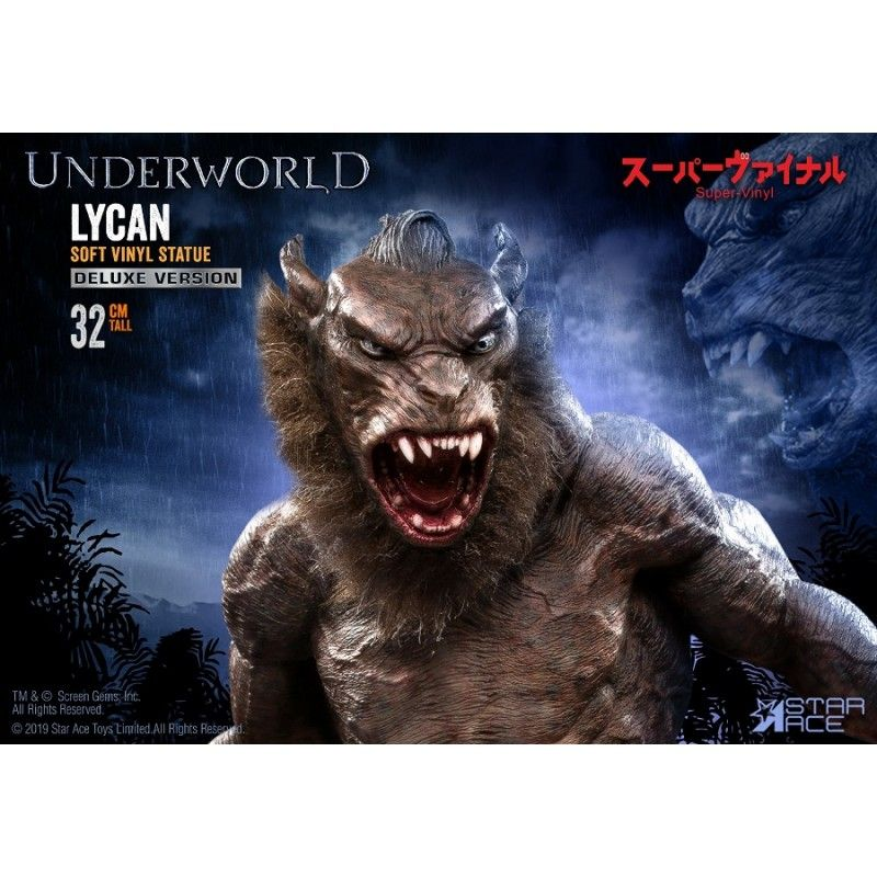 STAR ACE UNDERWORLD LYCAN SOFT VINYL STATUE 32CM FIGURE