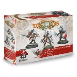DRAKERYS MINIATURE BOARDGAME - IROSIA PALADINATE MONSTERS BERSERKERS / CRUSHERS / ENFORCERS FIGURE SET DO NOT PANIC GAMES