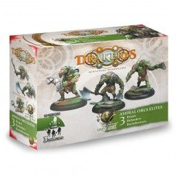 DRAKERYS MINIATURE BOARDGAME - ASHRAL ORCS ELITES BRUTES / DEFENDERS / ROCKTHROWERS FIGURE SET DO NOT PANIC GAMES