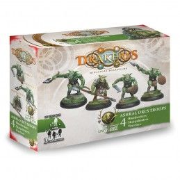 DRAKERYS MINIATURE BOARDGAME - ASHRAL ORCS TROOPS BLOODSEEKERS / SHARPSHOOTERS / WARRIORS FIGURE SET DO NOT PANIC GAMES