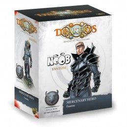 DRAKERYS MINIATURE BOARDGAME - MERCENARY HERO: FANTOM FIGURE SET DO NOT PANIC GAMES
