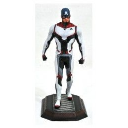 DIAMOND SELECT MARVEL GALLERY AVENGERS ENDGAME CAPTAIN AMERICA TEAM SUIT STATUE 23CM FIGURE