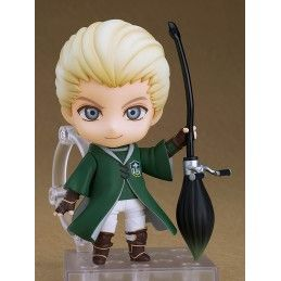 GOOD SMILE COMPANY HARRY POTTER - DRACO MALFOY QUIDDITCH VERSION NENDOROID ACTION FIGURE
