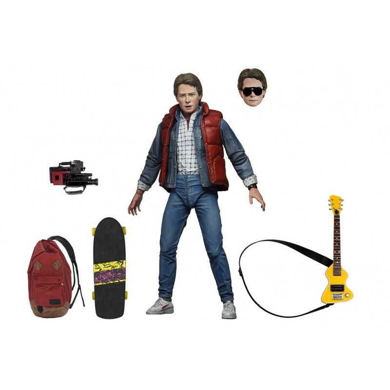 NECA BACK TO THE FUTURE - RITORNO AL FUTURO - ULTIMATE MARTY MCFLY ACTION FIGURE