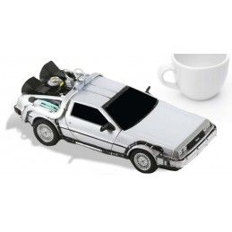 NECA BACK TO THE FUTURE - RITORNO AL FUTURO - DELOREAN TIME MACHINE DIE CAST FIGURE