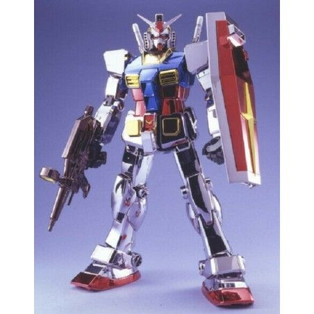 PERFECT GRADE PG GUNDAM RX-78-2 CHROME PLATED 1/60 MODEL KIT ACTION FIGURE
