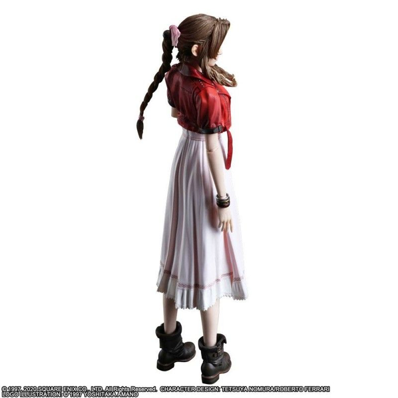 SQUARE ENIX FINAL FANTASY 7 REMAKE - AERITH GIANSBOROUGH 25CM PLAY ARTS KAI ACTION FIGURE