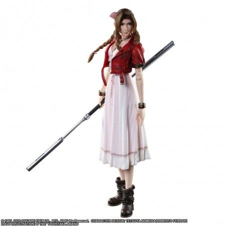 FINAL FANTASY 7 REMAKE - AERITH GIANSBOROUGH 25CM PLAY ARTS KAI ACTION FIGURE