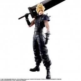 SQUARE ENIX FINAL FANTASY 7 REMAKE - CLOUD STRIFE 27CM PLAY ARTS KAI ACTION FIGURE