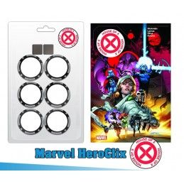 WIZKIDS MARVEL HEROCLIX X-MEN HOUSE OF X DICE AND TOKEN KIT GIOCO DA TAVOLO