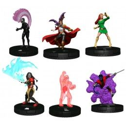 WIZKIDS MARVEL HEROCLIX X-MEN HOUSE OF X BOOSTER BRICK SET GIOCO DA TAVOLO