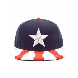 CAPPELLO BASEBALL CAP CAPTAIN AMERICA CIVIL WAR - STAR