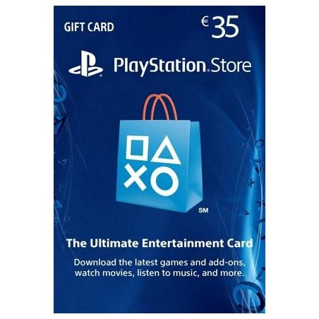 SONY PLAYSTATION NETWORK CARD 35 EURO DIGITAL DELIVERY