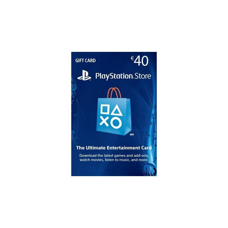 SONY PLAYSTATION NETWORK CARD 40 EURO DIGITAL DELIVERY