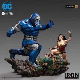WONDER WOMAN VS DARKSEID 1/6 DIORAMA 47 CM STATUE FIGURE IRON STUDIOS