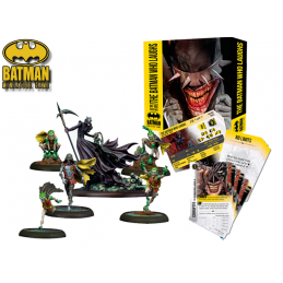 BATMAN MINIATURE GAME - THE BATMAN WHO LAUGHS BATBOX MINI RESIN STATUE FIGURE KNIGHT MODELS
