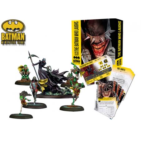 BATMAN MINIATURE GAME - THE BATMAN WHO LAUGHS BATBOX MINI RESIN STATUE FIGURE