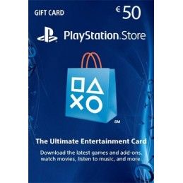 SONY PLAYSTATION NETWORK CARD 50 EURO DIGITAL DELIVERY